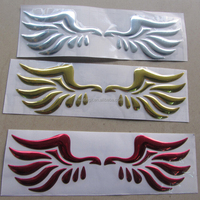 Angle wings PVC motorcycle sticker/Car Decal Art Sticker /Guaranteed 100%