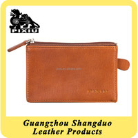 Top Performance Supplier Custom Leather Coin Purse for Lady