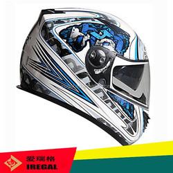 Enduro T-rex Muffler Helmet Cascos Motorcycles