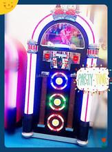 Large CD Jukebox Station with bluetooth / radio / usb sd for chrismas party decoration / wedding gift / restaurant use