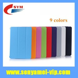 2015 New Products For iPad Mini Smart Case Leather Flip Cover,For Apple iPad Mini 2 3