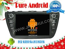 dvd player for car FOR SUZUKI Scross Android 4.4 RDS,Telephone book,AUX IN,GPS,WIFI,3G,Built-in wifi dongld