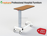 Hospital Bed Tray Tables With Wheels G-FW001