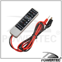 POWERTEC Automotive multi-tester with 6 LED indicators voltage,alternator multichecker for all 12V DC systems