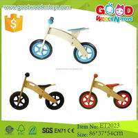 2015 Promotional Toy Hot Sale Simple Design Wooden Kids Bike for Sale