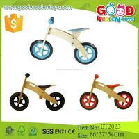 2015 Promotional Toy Hot Sale Simple Design Wooden Kids Bike for Sale