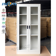 Contemporary Attractive Lateral Glass Jewelry Display Cabinet