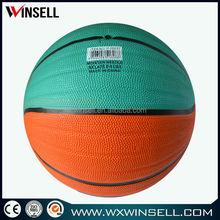alibaba china heavy material colorful basketball
