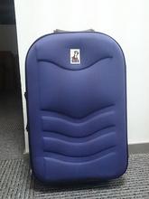 Fashion Navy Blue EVA Luggage , Cheap Fabric EVA Trolley Luggage