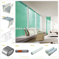 NOVO manufactuer window system used in smart home / window blinds venetian components