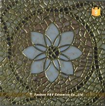 Good Quality Non-Slip Golden Glazed Floor Tile