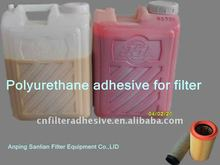Polyurethane resin for air filter