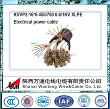 Low Voltage Copper wie braiding control cables outboard control cables