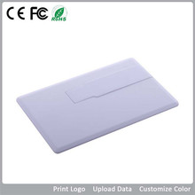 class 1GB promotional super thin credit card usb flash drive for school/charity/hospital/bank