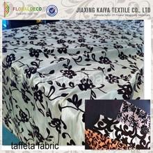 100% polyester fabric crumple soft taffeta