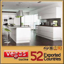 European standard Deluxe hot sell white metal kitchen cabinets