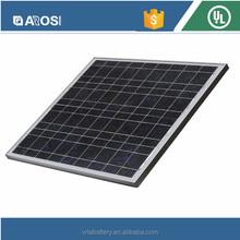 High Quality Poly Solar Panel 55w, Price Per Watt Solar Panel, Solar Panel Price List