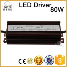 2.4a constant current led driver power supply 80w