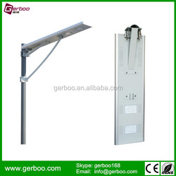 Manufacturer Supply High Power All in One Integrated Solar Led Street Light 6W-80W