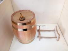 2015 de alta qualidade de madeira barril de vinho e vinho de madeira barrel atacado