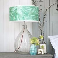 7.19-1 Glass Pumpkin Table Lamp