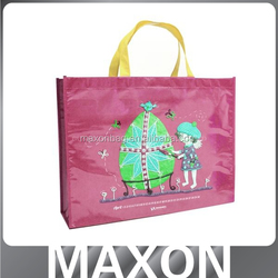 best selling!! factory sale with fruit printing wholesale laminated pp non woven bags,laminated non woven bag