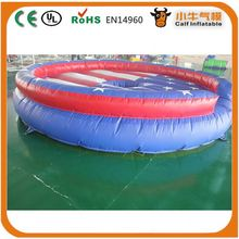 Factory direct sale attractive style top level giant inflatable pool/water slide for wholesale