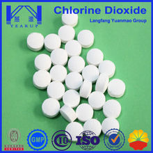 Water Treatment Chemicals Stabilized Chlorine Dixoide Tablet