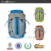 Poly climbing hiking waterproof backpack bag