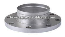 304 316L stainless steel grooved flange changed fitting