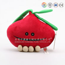 Variety of styles ICTI audit OEM factory custom apple plush toy