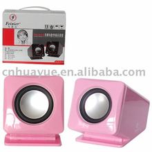 2.0 mini speakers/ new style/ portable/ PS2 interface/ USB interface