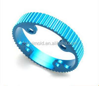 Custom made color anodized motor cycle parts