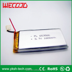 lithium polymer lipo li ion small battery for electronic toys