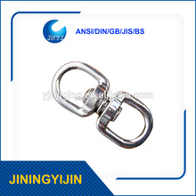 Nickel Plated Zinc alloy Double Eye small Swivel for pet