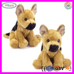 D289 Brown German Shepherd Dog Animal Toy Stuffed Plush German Shepherd