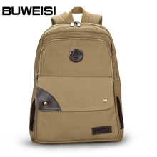 hot sale blank canvas backpack students back bag for high school