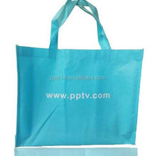 cheap fashion non woven promotion bag/ recycled pp non woven tote shopping bag/ raw material for pp non woven bags