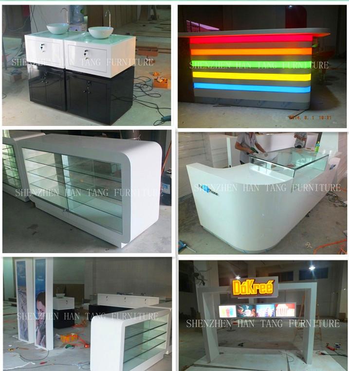 15 15 feet best indoor mall new design square food kiosk for Indoor food kiosk design