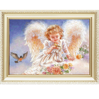 2015 New design Angel pattern abstract oil painting by numbers kits