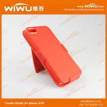unbreakable waterproof cell phone case for Iphone combo case
