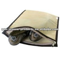 Zipper shoes cover packing bag