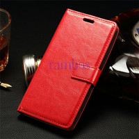 Magnetic Flip 3 Card Slots Wallet Crazy Horse Photo Frame Leather Case Cover for LG G3 Mini L Fino L Bello G4 G Fiex 2