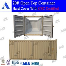 CSC certified brand new 20ft open top containers price