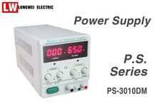 Single Channel Output 30V 10A Adjustable Digital Display Linear DC Power Supply With Converted Display