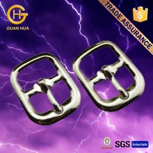 Custom design silver decorative shoe buckles for shoes