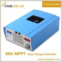 60A MPPT solar charger 12v 24v 48v for solar home system Economic Design