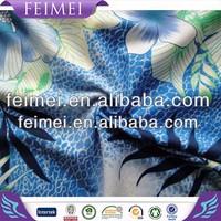 2015 new style fashion burnout printed floral prints nylon spandex swimwear fabric