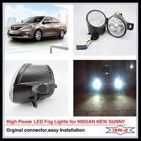 High Power LED Fog Lamp For Nissan New Sunny