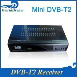 Mini DVB-T2 HD Mstar 7T01 Chipset Solution 1080P Full HD MPEG4 H.264 PVR Digital TV Receiver